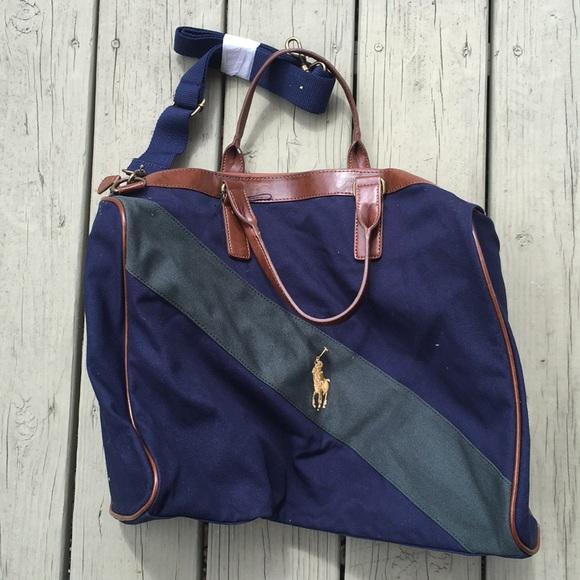 f73625844c Vintage polo Ralph Lauren duffle bag nwot. M 5aca71bba4c485664010d492